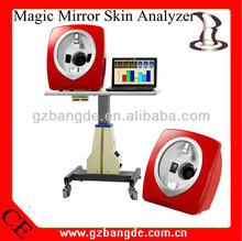 2013 NEWEST! Multifunctional Magic Mirror Skin Analyzer for English Chinese Spanish Russian version BD-P027