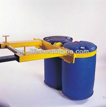 Forklift Drum Lifter for Handling Two Drums Together