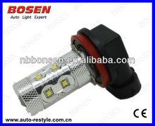 50w cree chip fog light/fog lamp/led auto bulb H7,H10/9145,H4,H8,H11,9005(HB3/9011),9006(HB4/9012/9040)