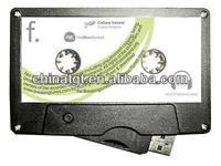 Custom Cassette USB 4GB Music Download