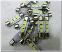 31mm 5050 3 LED 3 smd Festoon Dome LED Light Bulbs,led car interior decoration lighting