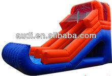FRONT Slide/15' RED Inflatable SLIDE