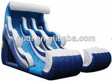 18' FRONT LOAD TWO LANE Inflatable Slide/Inflatable WAVE SLIDE