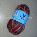 de acrílico y lana mezclada hilo teñido para tejer