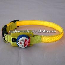 Lovely pet product flashing LED cat collar