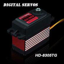 High Speed Power HD 57g/ 5.5Kg/ 0.06sec Metal Gear Digital Servo HD-8305TG futaba S9254 Align DS650 DS655