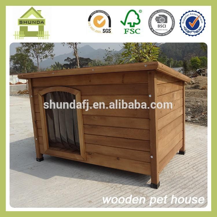 sdd06 خشبية بيت الكلب كلب كبير