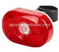 5x led rojo luces trasera para bicicleta rápido con soporte de montaje