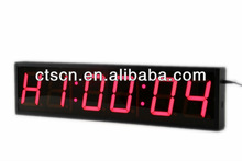 LED Time Clock 4Inch 6 Digit