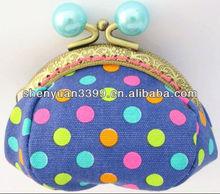 MINI colourful mental clip purse for sunshine girl as present
