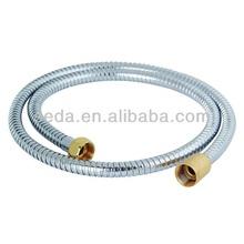 brass flexible shower hose,double/single clip