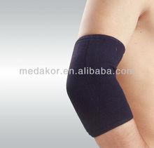 black elastic elbow pad