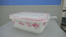 Ceramic lock Food Storage Container With Locking Lid