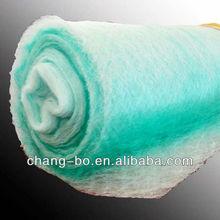 non-woven fiberglass floor air filter material