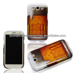 Beer Mug Hard TUFF Design Cell Phone Protector Case Cover for Samsung Galaxy S3 i9300