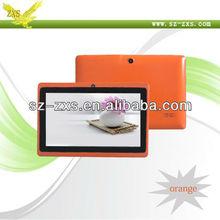 Zhixingsheng 7 inch shenzhen pc tablet ,allwinner a13 tablet pc wit wifi,skype,ms office Q88