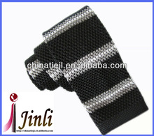 Trendy skinny striped knitted best necktie brands