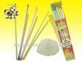 El buen gusto xxl super azúcar largo palo de caramelo sabor de la fruta caramelo/polvo de palo