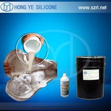 RTV-2 liquid silicon rubber plaster casting,gypsum columns molding