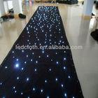 JOH dirt against led star curtain,RGB led curtain,led video curtain