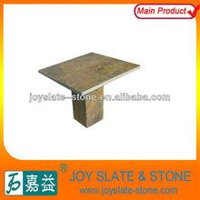 Rectangle natural slate nail table