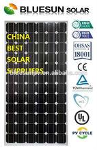 Bluesun high quality and best price 1000 watt solar panel