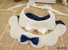 SO BEAUTIFUL!!! wholesale fashion collar handmade collar peals necklace