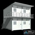 dos pisos pasupa económico combinado de contenedores prefabricados casa