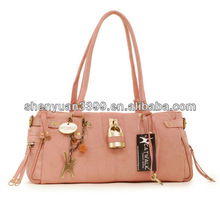 Top Good PU Hobo Leather handbag women glory pink shoulder bags fashion