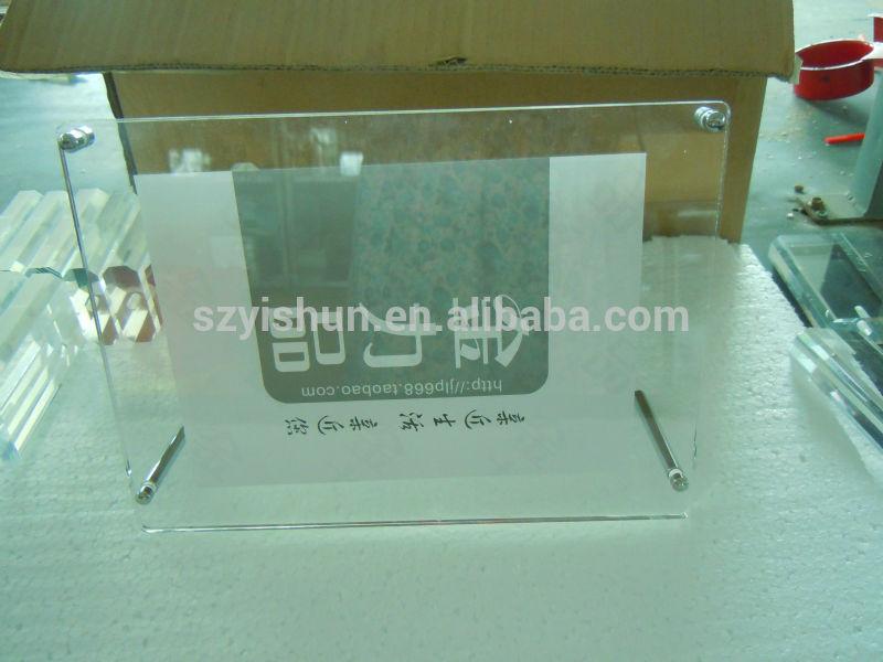 klaren acryl bilderrahmen gebogen acryl bilderrahm