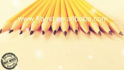 "HOT 7"" Hexagonal Yellow HB(Graphite) Pencil with Eraser Office&. School Supplies"