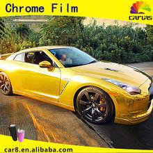 Chrome Vinyl chrome film for wrapping matte vinyl film