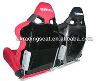 AK high quality fabric adjustable BRIDE FRP CUGA racing seat