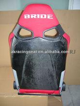 HOT Factory Price black red Cloth BRIDE carbon fiber CUGA Racing Seat