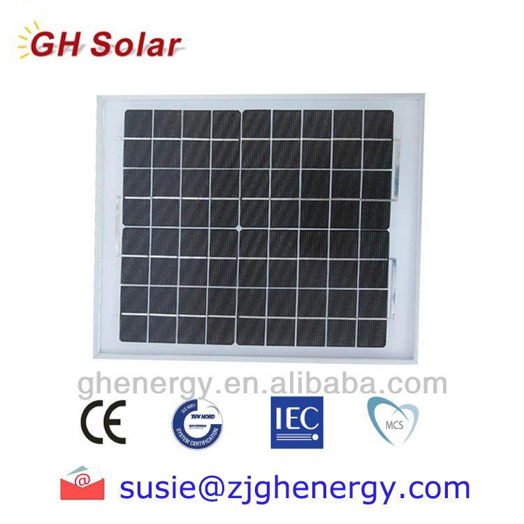 10W solar panel small size hot sale India