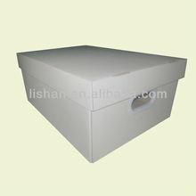 Printing foldable storage corrugated box