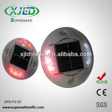 IP68 PC plastic Flashing Solar LED Reflector Road