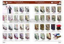 nuovo design mdf tela box catalogo