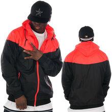 custom light weight zip up jackets for men