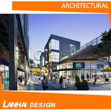 architettonica 3d prospettive per rendere edificio designings
