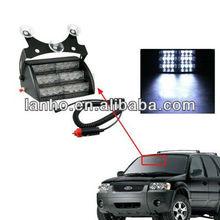 18 LED 3 Modes Emergency Strobe Lights Flash Car For Windshields