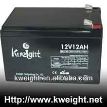 sealed lead acid battery 12v 12ah mower battery