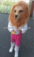 Realistic animal latex mask/animal lion mask