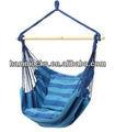 Blue corda pendurada cadeira de balanço da varanda do pátio camping max. 265 lbs
