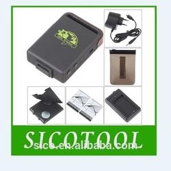 Newly professional mini personal pet gps vehicle gsm/gprs/gps tracker tk102/tk 102 gps car tracker high quality low price