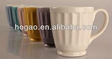porcelain mug with channel