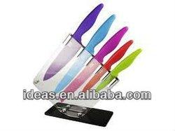 Fashion design acrylic knife and scissor holder
