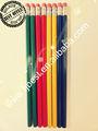 """Hot 7"""" hexagonal quatro cores lápis hb conjunto de papelaria do escritório&. Material escolar"""