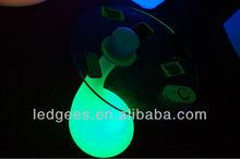 Pe material de luz LED a prueba de agua brillante multicolor muebles para el salón, Bar, Pub