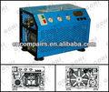 lyx100 alta pressão compressor de ar aspirado para mergulho do exército do projeto